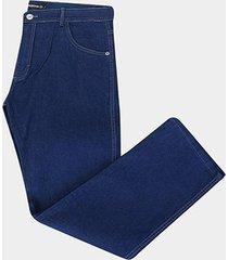 calça jeans slim preston plus size masculina