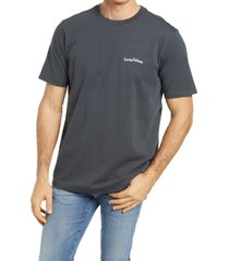 men's tommy bahama men's long may it wave graphic tee, size small - black