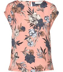 blouse ss t-shirts & tops short-sleeved rosemunde