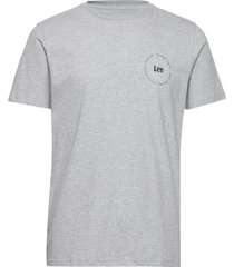 small sunset tee t-shirts short-sleeved grå lee jeans