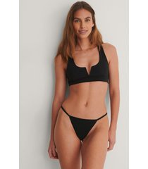 na-kd swimwear recycled bikinitrosa - black