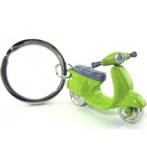 llavero scooter moto style europa mtm-verde/galvanoplastia