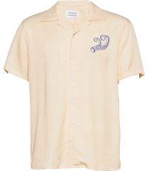 cave s/s overhemd met korte mouwen roze libertine-libertine