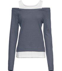 maglia 2 in 1 (grigio) - rainbow