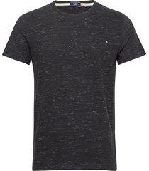ol vintage emb crew t-shirts short-sleeved svart superdry