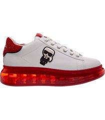 scarpe sneakers donna in pelle kapri kushion capsule k/ikonik