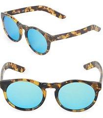 49mm clubmaster sunglasses