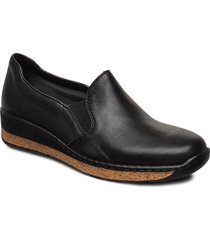 59766-00 loafers låga skor svart rieker