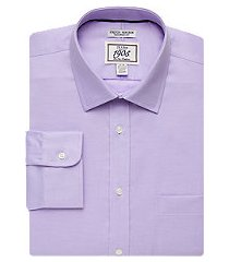 1905 collection extreme slim fit twill dress shirt - big & tall, by jos. a. bank