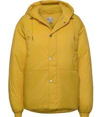 puff jacket gevoerd jack geel hope