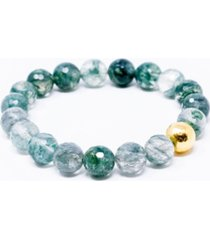 katie's cottage barn evergreen gemstone give back bracelet