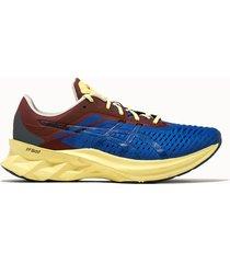 asics sneakers novablast colore azzurro