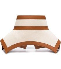 loewe obi waist belt - brown