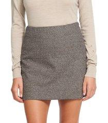 theory a-line mini skirt - tan - size 14