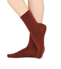 calzedonia wool and cotton short socks woman red size tu