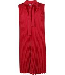 red valentino soft dress