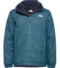 m quest insulated jk outerwear sport jackets blauw the north face