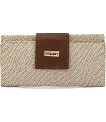 billetera grande a010 cascabel beige