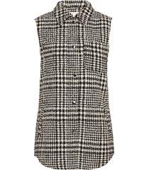 viceyla l/s waistcoat vests knitted vests svart vila