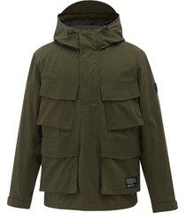 104125-376 | khaki jacket | khaki - m