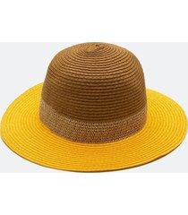 chapéu do panamá tricolor