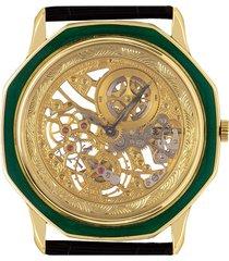audemars piguet pre-owned wheels wrist watch - yellow gold