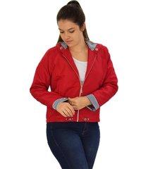 jaqueta tactel microfibra butu biru capuz listra vermelho