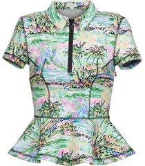 blouse manoush palmier