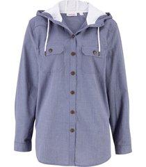 camicia con cappuccio (blu) - john baner jeanswear