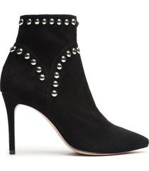 lilly bootie - 11 black suede