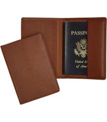 royce new york classic rfid blocking passport case