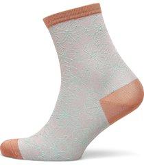 flowdy sora sock lingerie socks regular socks grå becksöndergaard