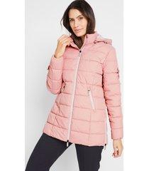 licht gewatteerde jas, verstelbaar in wijdte