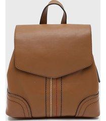 mochila marrón tommy hilfiger
