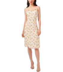 1.state ruffle neckline slip dress