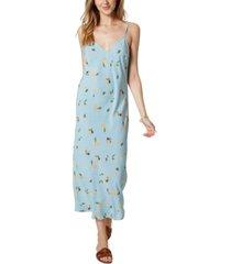 o'neill izzy floral-print tank midi dress