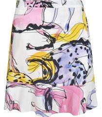 stella mccartney horse printed skirt