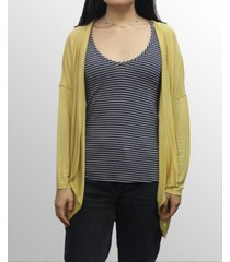 coin 1804 womens light weight cocoon cardigan