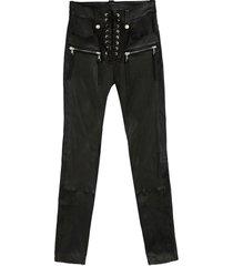 ben taverniti unravel project leather trousers