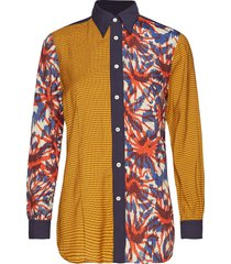 caba shirt overhemd met lange mouwen multi/patroon hope