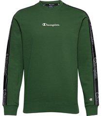 crewneck sweatshirt sweat-shirt tröja grön champion