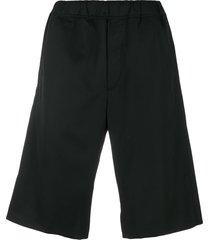 oamc loose fit shorts - black