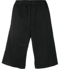 oamc loose fit shorts - black