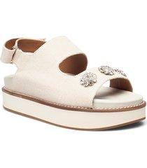 juta shoes summer shoes flat sandals rosa ganni