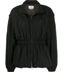 isabel marant étoile dastya convertible jacket - black