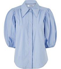 blus briela puff sleeve shirt