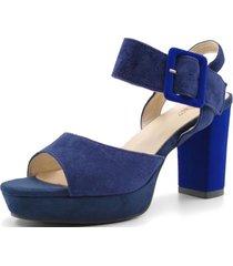 sandalia gala azul toffy co.