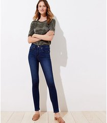 loft high waist slim pocket skinny jeans