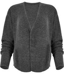 vest maicazz promise vest grey melange fa20.65.005