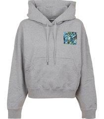 kenzo boxy fit hoodie artwork